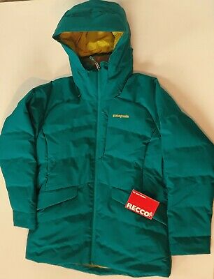fa2c501bb PATAGONIA WOMENS PIPE Down Jacket Coat Elwha Blue Large retail $349. New