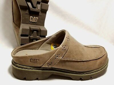 5b069bd9efee Caterpillar Dry Sand Slip On SKYLA P73319 Womens Shoes SZ 11M Leather Clogs  CAT