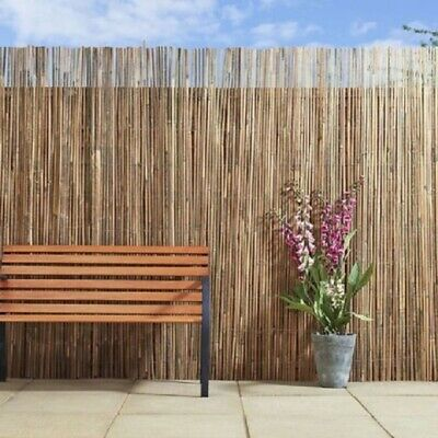 Bamboo Reed Fence Screening Rolls Garden Sun Protractor Best Out Door Privacy