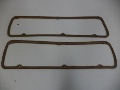 FORD MAJOR,POWER MAJOR,SUPER MAJOR 1957-1964 w/592E NOS ROCKER COVER GASKETS(2)