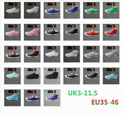Unisex  Classic  All Star Tops  Canvas Trainers Taylor  Low  Trainer  Sneaker UK