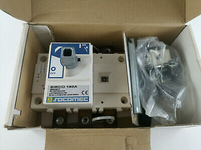 Socomec Sirco 160A Lasttrennschalter 26E03017 on load isolator