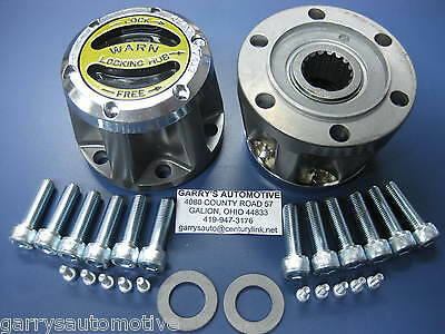 WARN 61385 4WD Manual Locking Hubs Isuzu 87-99 Trooper II Rodeo 91 Lockout Axle