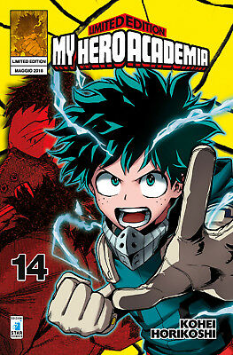 Manga - Star Comics - My Hero Academia 14 Limited con Poster - Nuovo !!!