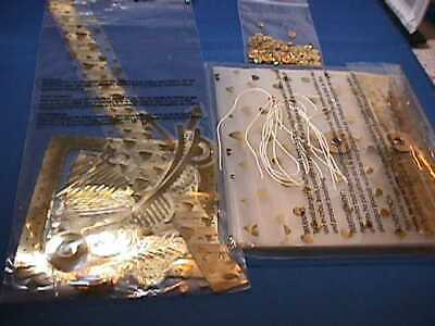 WE R Memory Keepers Fuse Gold Foil Paper Crafting Kit NEW SEALED