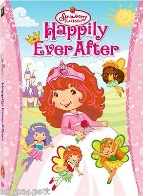 Strawberry Shortcake Happily Ever After NEW DVD Buy 2 Items - Get $2 OFF