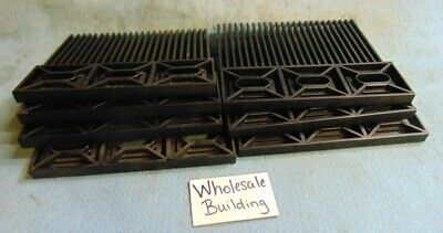 "Uni-Chain, Fingerplate / Combs, Snb K600, Black, O.a.l. 5.31""  **lot Of 7**"