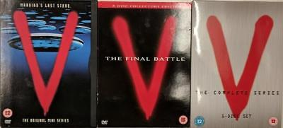 V THE COMPLETE SERIES [Mini-Series*Final Battle & 19 Episode TV Series] DVD *EXC