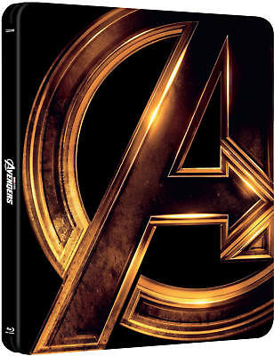 The Avengers 3-Movie Collection - Limited Edition Steelbook (Blu-ray) BRAND NEW!