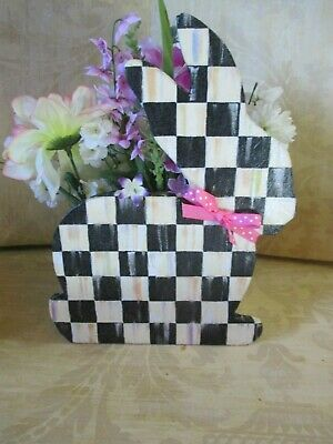 Mackenzie Child's Easter Bunny Box Planter,hand Made By Me