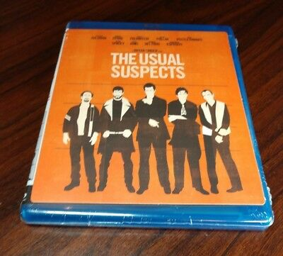 The Usual Suspects (Blu-ray Disc,1995)Brand NEW(Sealed)Free Shipping with Track