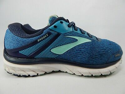 85da8c9747b83 Brooks GTS 18 Size US 8 D WIDE EU 39 Women s Running Shoes Blue 1202681D495