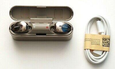 Sony WF-1000X/NM1 True Wireless Earbuds Noise Cancelling Headphones Gold WF1000X