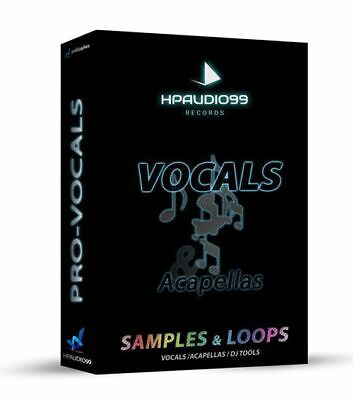 SAMPLES & LOOPS VOCALS and ACAPELLAS VOICE SOUNDS ACAPELLA, MIC