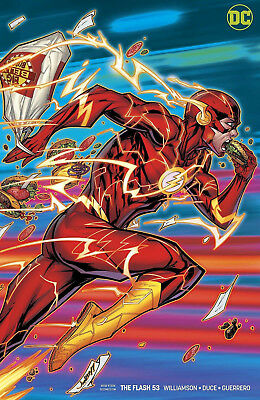 THE FLASH #53 Cover B DC Comics Universe 1st Print New NM Bagged & Boarded