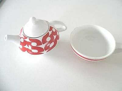 S&P Tea For One Teapot & Cup Set New