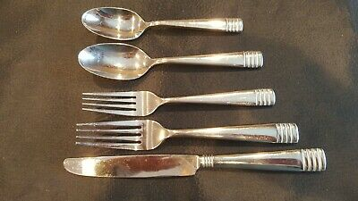 Oneida Stainless CULINARIA 5 Piece Place Setting