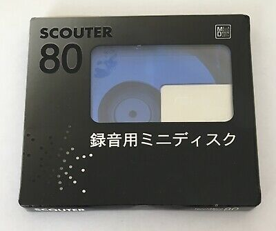 Scouter MD 80 Blue Minidisc - Sealed
