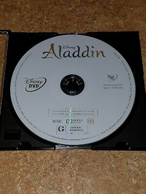 Aladdin (Special Edition, DVD, 2015) *DISC ONLY* FROM DIAMOND EDITION! AUTHENTIC