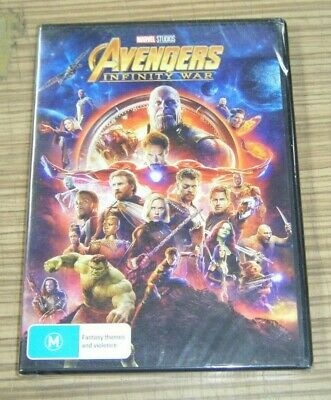 New Sealed DVD - Avengers: Infinity War [A8]