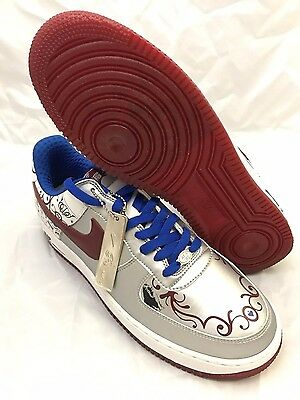 2ac64a491b4 NEW DS Nike Air Force 1 Premium Lebron Met Silver 2006 Size 11 Mens 313985  061