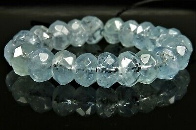 Sample Of One Bead Of Gemmy Heliodor Yellow Aquamarine Briolette 3.8carats 7786a Beads & Jewelry Making Crafts