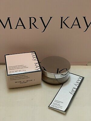 Mary kay Mineral powder foundation BEIGE 1 New In Box Fresh Products Originals