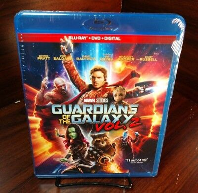 Guardians of the Galaxy Vol. 2 (Blu-ray/DVD+HD Digital)NEW-Free S&H with Trackin