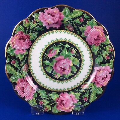 Royal Albert Crown China Needle Point Tea Plate - 5 Available