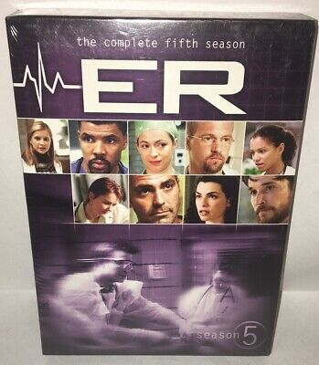 ER - The Complete Fifth Season (DVD, 2011, 6-Disc Set) !!Brand New!!