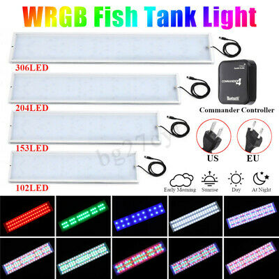 Chihiros RGBW LED Aquarium Fish Tank Light Plant Grow Lamp Bluetooth Commander 4