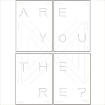 Monsta X Take.1 Are You There 2nd Album Random CD+P+Book+etc+Gift
