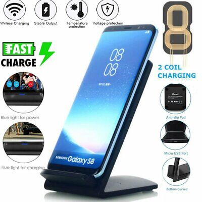 For Samsung Galaxy S10e S10 S10 Plus S9 Plus S8 Note 9 Fast Qi Wireless Charger
