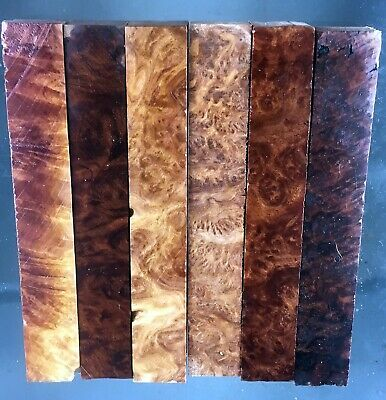 pen blanks, wood turning, red mallee burl