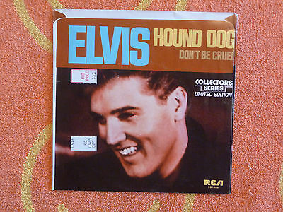 ELVIS PRESLEY Hound Dog 45 rpm PICTURE SLEEVE ONLY Collector's Series 1977