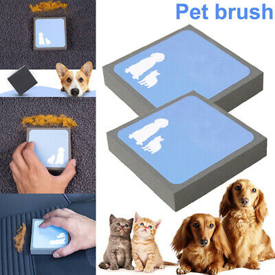 Magic Pet Hair Lifter Sponge Brush Square Hair Remover Cleaning for Dog Cat Fur