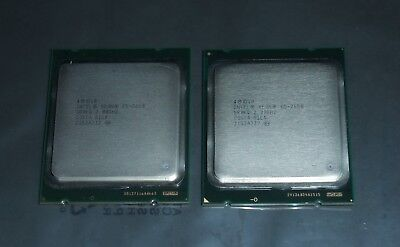 2x Intel XEON E5-2650 8-Core 2Ghz 8GTs 20Mb FCLGA2011 CPUs -Matching pair SR0KQ