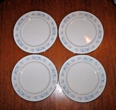 Lot of 4 Carlton Dinner Plates Made In Japan Carla 506