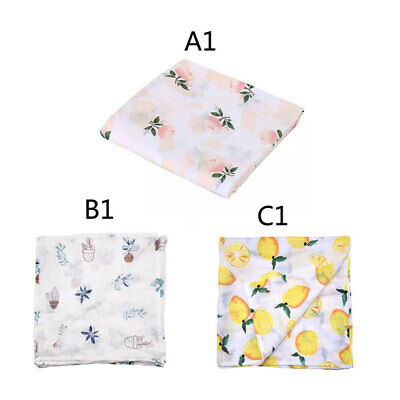 Newborn Cotton Lovely Baby Swaddle Wrap Blanket Swaddle Double Layer Blankets
