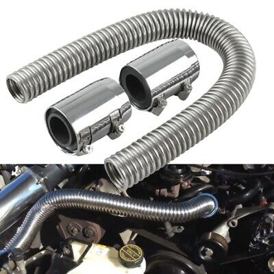 "24"" flexible upper/lower car radiator hose kit and stainless steel with chrom H2"