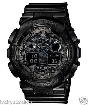GA-100CF-1A Black Casio Men's Watch G-Shock Analog Digital Resin 200m New