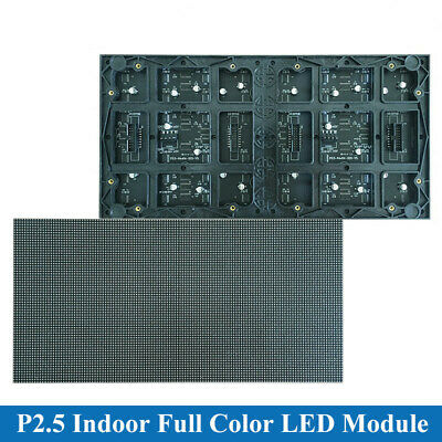 128*64 pixels led matrix RGB P2.5 Indoor Full color LED Display module 320*160mm