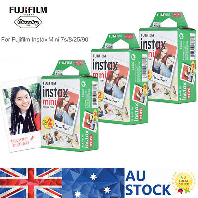 60 Sheets Fuji Instax Mini Film Photo for Fujifilm Instant 7s 8 25 50s 9 90 M4L0