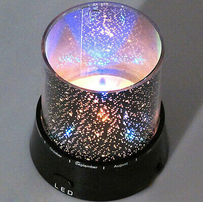 LED Starry Night Sky Projector Lamp Star Light Cosmos Master Romantic Kids Gift