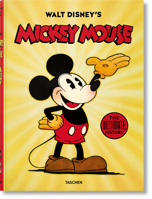 [STOCKS LAST] Walt Disney's Mickey Mouse The ultimate history 9783836552844