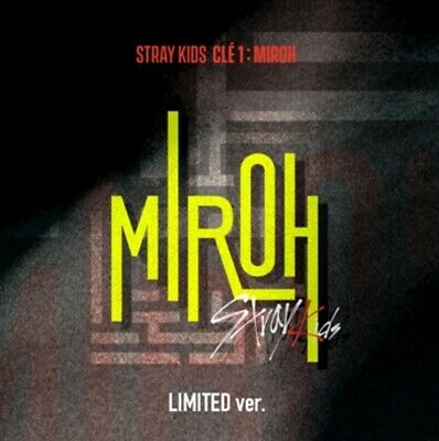 Stray Kids -Cle1 :miroh Mini Album Limited Ed  -Sealed With Original Contents