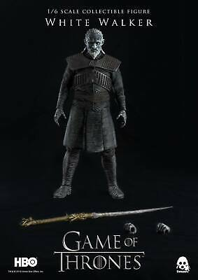 ThreeZero 1/6 Game of Thrones White Walker Action Figure Highly Accurate