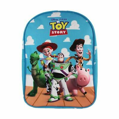 Official Licensed Children's Disney Pixar Toy Story Blue Backpack for Boys Girls