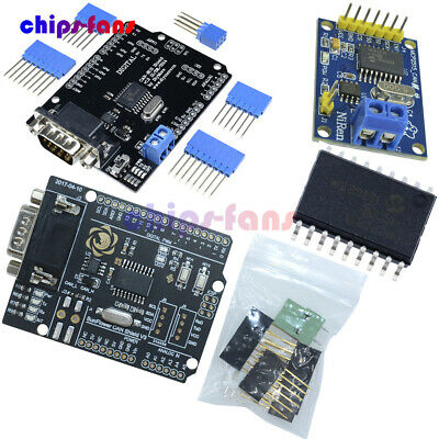 MCP2515 EF02037 TJA1050 CAN Bus Shield SPI Controller IC Receiver for Arduino