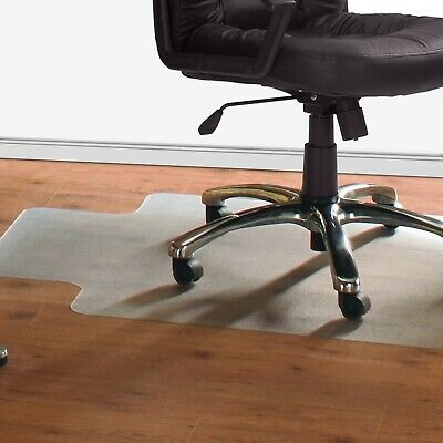 Translucent Lipped non-Studded Chair Mat for Hard Flooring DPA/ CP2HF